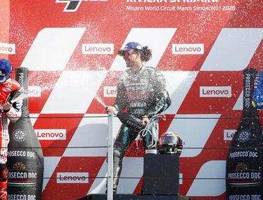 Franco Morbidelli Jawara MotoGP San Marino, Valentino Rossi Gagal Raih Podium ke-200