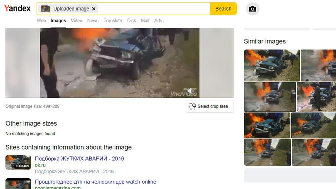Cek Fakta Liputan6.com menelusuri klaim video kecelakaan yang menewaskan karikatur Nabi Muhamad Lars Vilks
