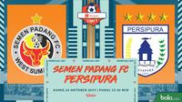Shopee Liga 1 - Semen Padang FC Vs Persipura Jayapura (Bola.com/Adreanus Titus)