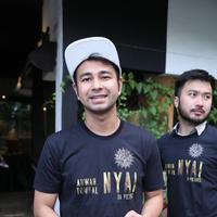 Raffi Ahmad makin fokus di dunia film. (Nurwahyunan/Fimela.com)