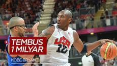 VIDEO: Nilai Barang Koleksi Kobe Bryant di eBay Naik Hingga 1 Milyar Rupiah