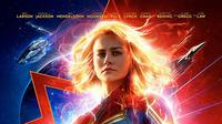 Poster film Captain Marvel. (Foto: IMDb/ Walt Disney)