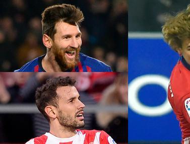 Top Scorer La Liga, Lionel Messi Tunjukan Kedigdayaan