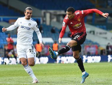 FOTO: Payah, Manchester United Menyiakan Banyak Peluang saat Lawan Leeds