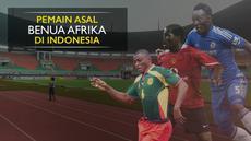 Berita video daftar pemain kelas dunia asal benua Afrika yang pernah memperkuat klub di Indonesia, tentunya salah satunya Michael Essien.
