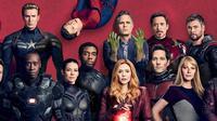 Para pemain film Avengers Infinity War dan sekuelnya. (Facebook - Marvel Cinematic Universe)