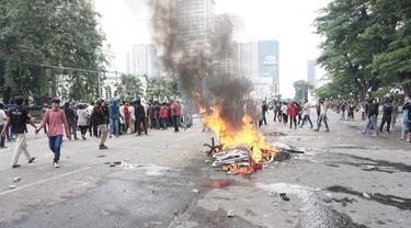 Unjuk rasa di Medan