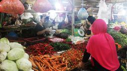 Sedangkan harga cabai lainnya, seperti cabai hijau yang harga sebelumnya Rp 60.000 per kg sekarang turun menjadi Rp 40.000 per kg