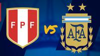 Laga Persahabatan Internasional: Peru vs Argentina. (Bola.com/Dody Iryawan)