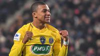 4. Kylian Mbappe (Paris Saint Germain) - Harga jualnya ditaksir mencapai 192,5 juta euro. (AFP/Loic Venance)