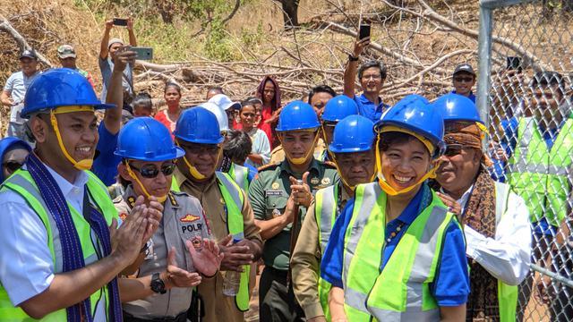 Peresmian BTS USO di Aewora, Kecamatan Maurole, Kabupaten Ende, NTT.