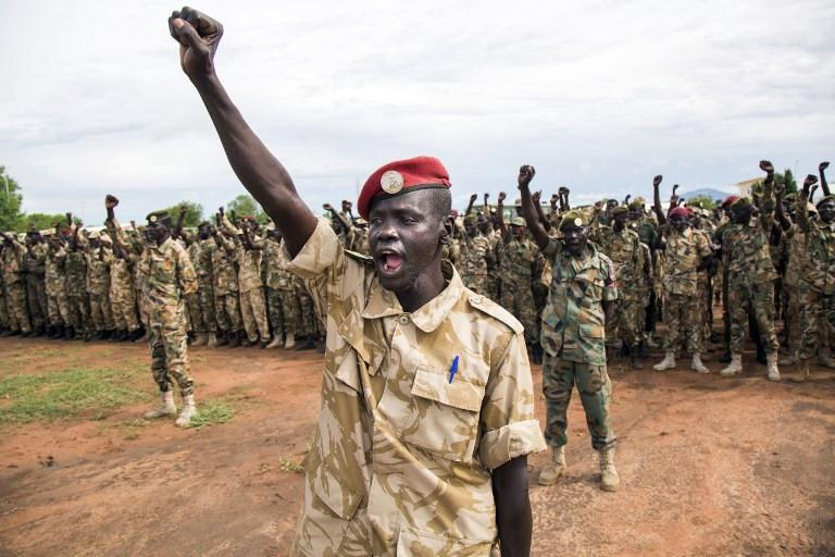 Tentara pemerintah Sudan Selatan (AFP)