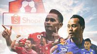 Liga 1 - Persija Jakarta dan Persib Bandung (Bola.com/Adreanus Titus)