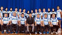 Tim bola voli putri Bandung Bank BJB Tandamata di Proliga 2020. (foto: istimewa)