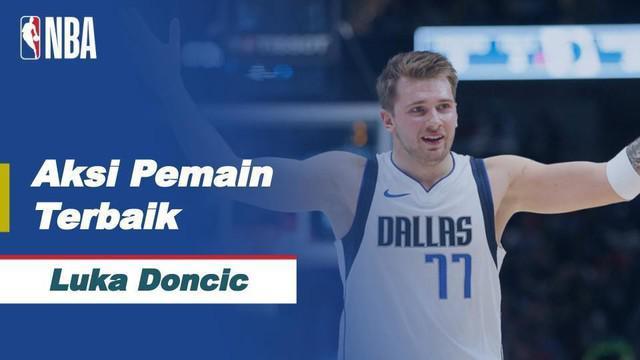 Berita Video Luka Doncic Jadi Bintang Kemenangan Dallas Mavericks Melawan San Antonio Spurs