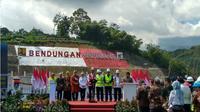 Jaga Ketahanan Air di Karanganyar dan Sragen, Jokowi Resmikan Bendungan Gondang