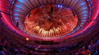 Paralimpiade 2016 ditutup dengan upacara megah di Stadion Maracana, Senin (19/9/2016) pagi WIB. (Twitter)