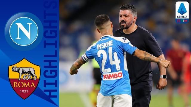 Berita video gol indah Lorenzo Insigne dalam highlights laga Serie A 2019-2020 antara Napoli melawan AS Roma yang berakhir dengan skor 2-1, Senin (6/7/2020) dini hari WIB.