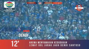Berita Video Dua Kali Tertinggal, Arema FC Bangkit dan Kalahkan Persela 3-2