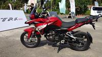 Benelli TRK 251 bakal meramaikan kelas adventure 250cc mulai tahun depan. (Septian/Liputan6.com)