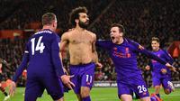Mohamed Salah. (AFP/Glyn Kirk)