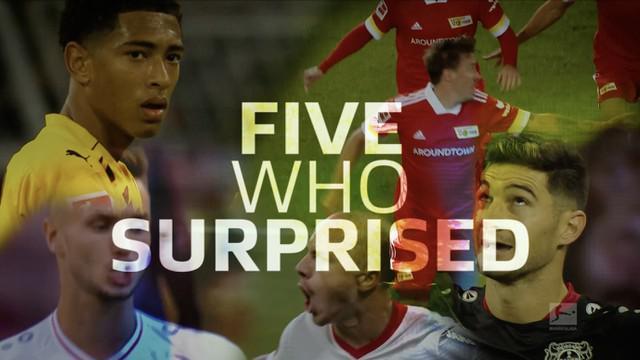 Berita video para pemain yang mengejutkan di Bundesliga 2020/2021 sementara ini, termasuk wonderkid Borussia Dortmund, Jude Bellingham.