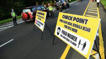 PSBB di Kota Bogor