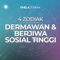 4 Zodiak Dermawan dan Berjiwa Sosial Tinggi