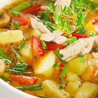 Sop Ayam Super, menu untuk sahur di hari terakhir bulan puasa. foto: delicious obessions