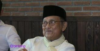 BJ Habibie yang pernah menjadi presiden Republik Indonesia ikut terlibat dalam film animasi nasional Adit Sopo Jarwo yang diproduksi oleh MD Entertainment. Apa alasan Pak Habibie mau ikut terlibat dalam film ini?