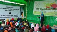Ngaji Plastik diadakan oleh Bank Sampah Nusantara dan NU. (dok.Instagram @ai_rosita2283/https://www.instagram.com/p/Bu8ops1g9kq/Henry