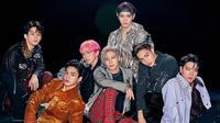 Selain merilis video musik debut, grup yang memiliki julukan Avengers of K-pop ini juga akan hadir di The Ellen Show pada 9 Oktober mendatang. (Liputan6.com/IG/@superm)