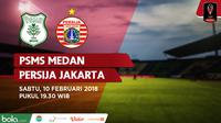 PSMS Medan Vs Persija Jakarta (Bola.com/Adreanus Titus)