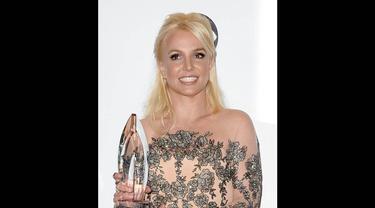 Penyanyi Britney Spears sempat dituntut karena telah melakukan pelecehan seksual terhadap mantan bodyguardnya. (Jason Merritt/Getty Images/AFP)
