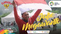 Garuda Kita Asian Games Jafro Megawanto (Bola.com/ Grafis: Adreanus Titus /Foto: Merdeka.com/ Arie Basuki)