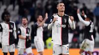 5. Juventus - Pembangunan stadion baru dan gaji tinggi para pemain menjadi alasan yang membuat Juventus mempunyai utang. Nyonya Tua tercatat memiliki utang senilai 372 juta euro. (AFP/Marco Bertorello)