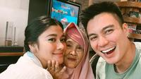 Potret Baim Wong,  Paula Verhoeven dan Nenek Iro (Sumber Instagram @BaimWong)
