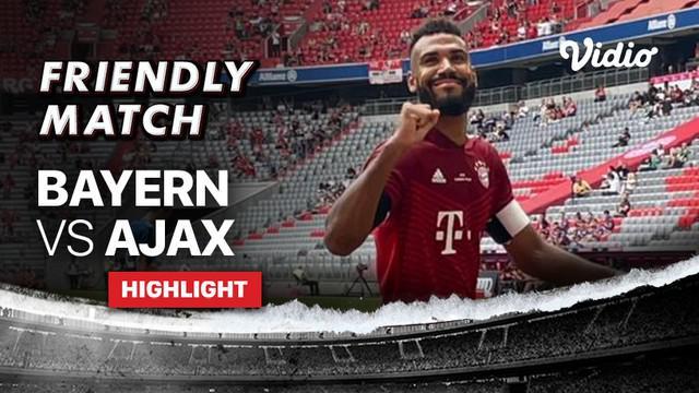 Berita video highlights laga uji coba yang berlangsung seru antara Bayern Munchen melawan Ajax yang berakhir dengan skor 2-2, Sabtu (24/7/2021) malam hari WIB.