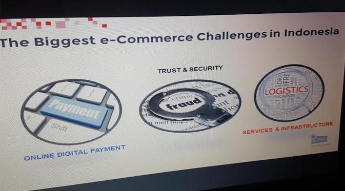Tiga Tantangan Terbesar e-Commerce di Indonesia. Liputan6.com/Dewi Widya Ningrum
