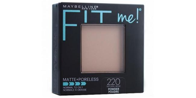 Maybelline FitMe Matte Poreless Powder/copyright sociolla.com