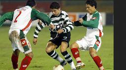 Penampilan Cristiano Ronaldo saat memperkuat Sporting Lisbon tahun 2002. (www.sportal.com.au)