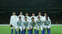 Timnas Malaysia U-22 di SEA Games 2017. (Bola.com/Dok. FAM)