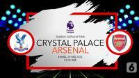 Crystal Palace vs Arsenal (liputan6.com/Abdillah)