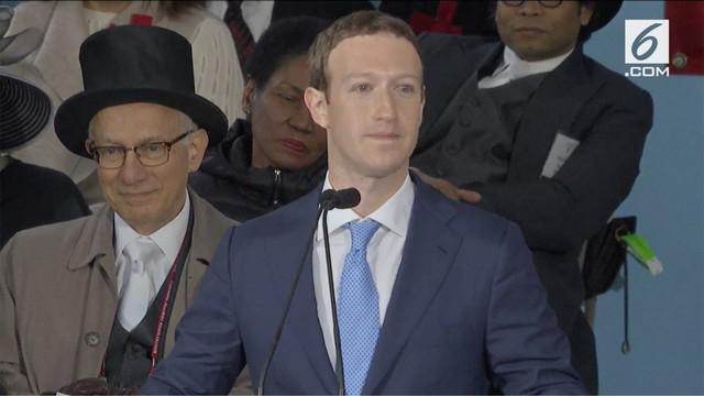 Zuckerberg mengimbau para milenial agar selalu setia dan fokus pada tujuan dan menciptakan ekosistem lingkungan yang punya tujuan.