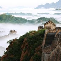 Tembok Besar Cina, Tiongkok. (Getty)