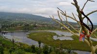 Danau Mas Harus Bastari Rejang Lebong memiliki keindahan alami yang menggoda (Liputan6.com/Yuliardi Hardjo)
