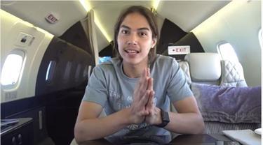 El Rumi Ungkap Bagian Dalam Pesawat Jet Pribad Maia Estianty