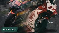 Moto2 - Pembalap Asia di Moto2 2020 (Bola.com/Adreanus Titus)