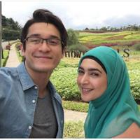 Miller Khan dan Nabila Syakieb di sinetron Surga yang Kedua. foto: Instagram