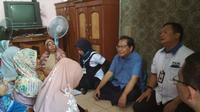 Rizal Ramli Bersama dengan PT PNM (Persero) berdialog dengan keluarga pra sejahtera di Kali Baru, Cilincing, Jakarta Utara, Rabu (6/12/2017).